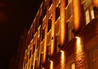 Oświetlenie Elewacji Kamienicy