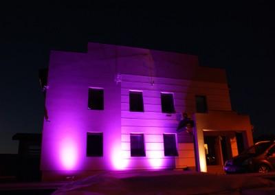Oświetlenie Elewacji RGB