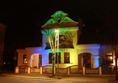 Oświetlenie Pałacyku