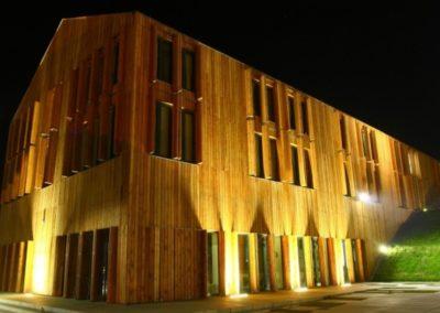 Oświetlenie Elewacji Hotelu