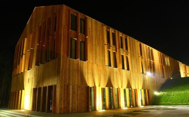 Oświetlenie Elewacji Hotelusmartlight Nowoczesne